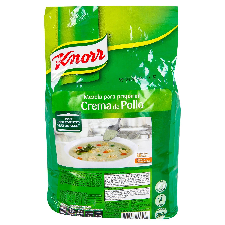 Crema Knorr Pollo 800g