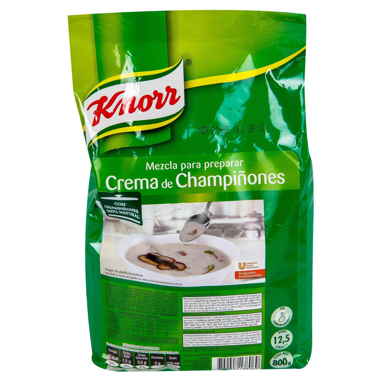 Crema Knorr Champiñones 800g