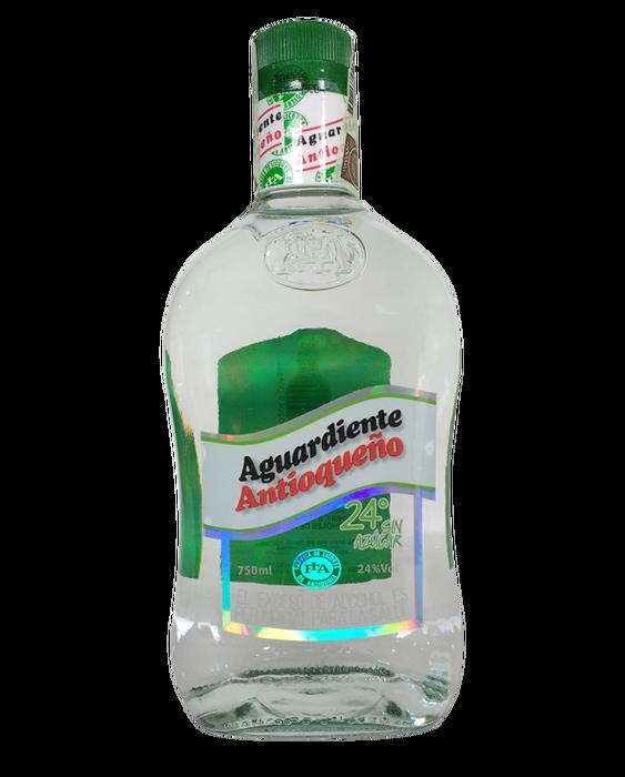 Aguardiente Antioqueño Verde sin Azucar 750ml