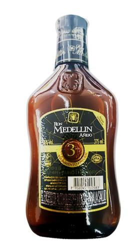 ron Medellin 3 Años X375ml