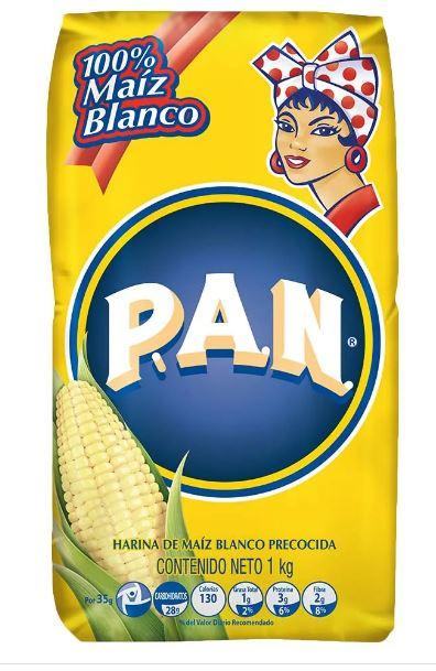 Harina pan Blanca x 1000g