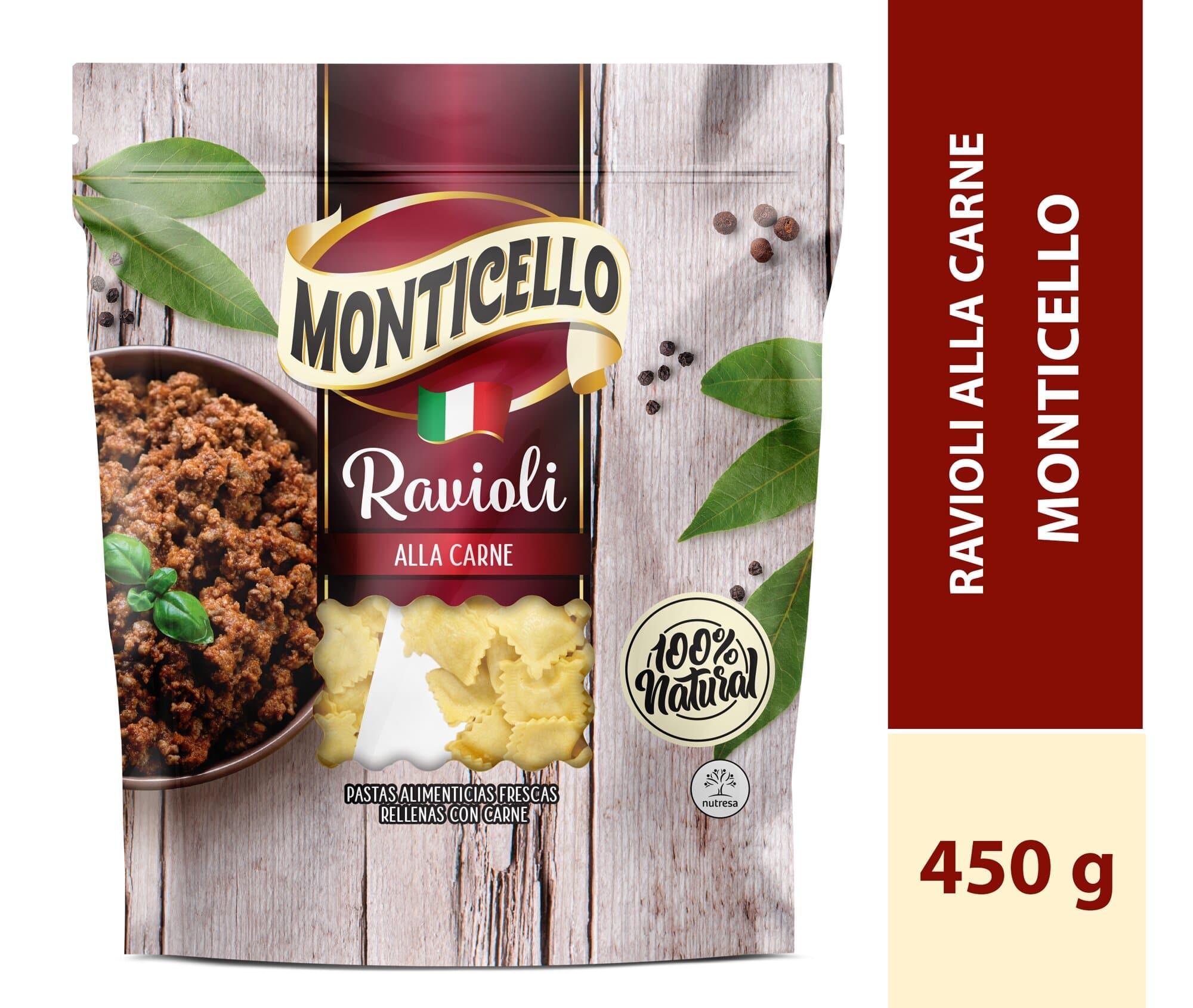 Ravioli Monticello Alla Carne 450g