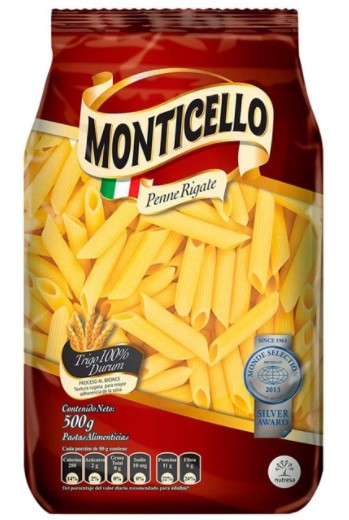 Pastapenne Rigate Montice 500g
