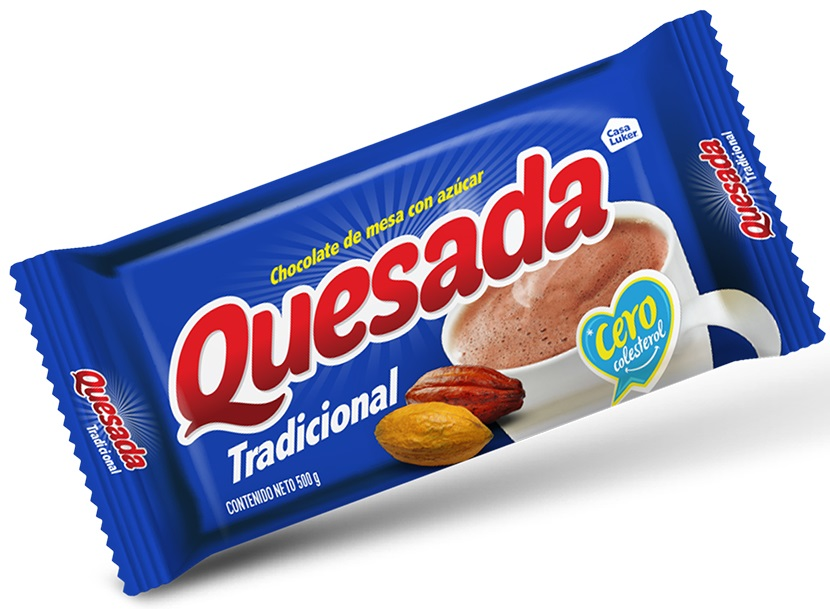 Chocolate Quesada Tradicion 500g