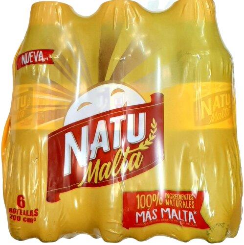 Malta Natumalta pet 200ml x6u