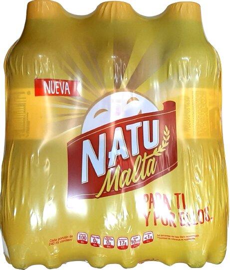 Malta Natumalta pet 400ml x6u