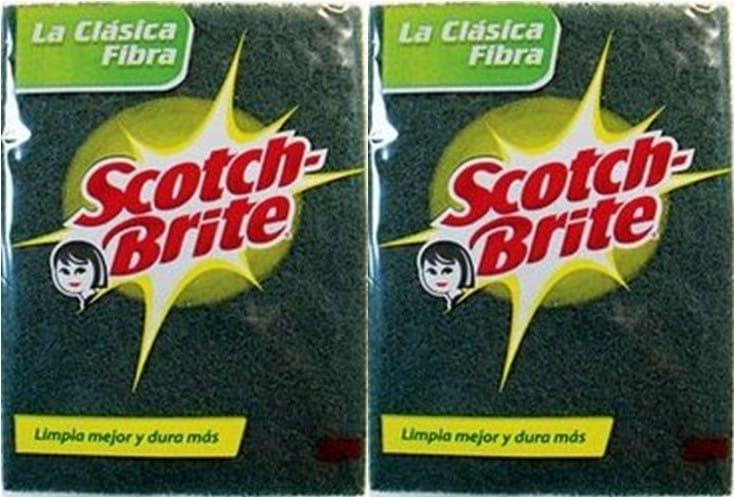 Esponja Scotch Brite la Clasica Fibra P12l15