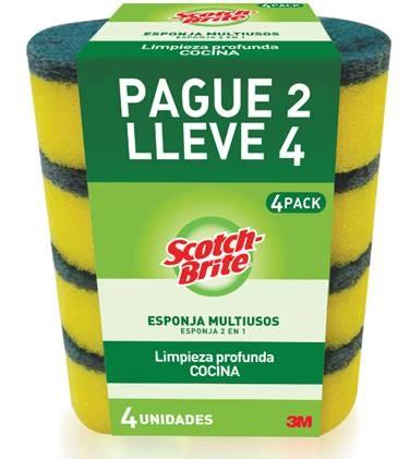 Esponja Scotch Brite Cocina P2l4