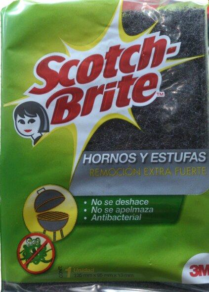 Esponja Parrilla Scotch Brite x1