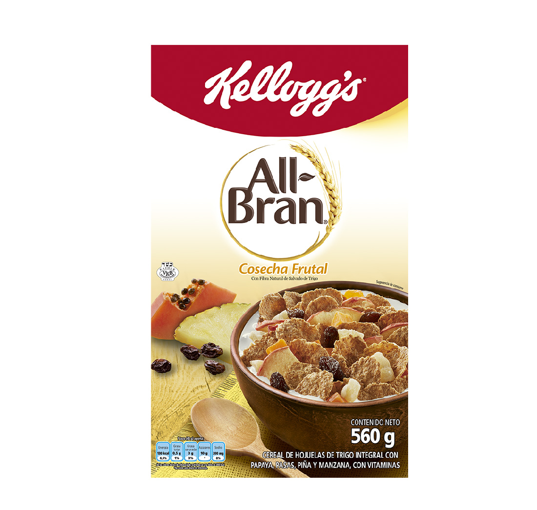 Cereal all Bran Cosecha Frutal 560g