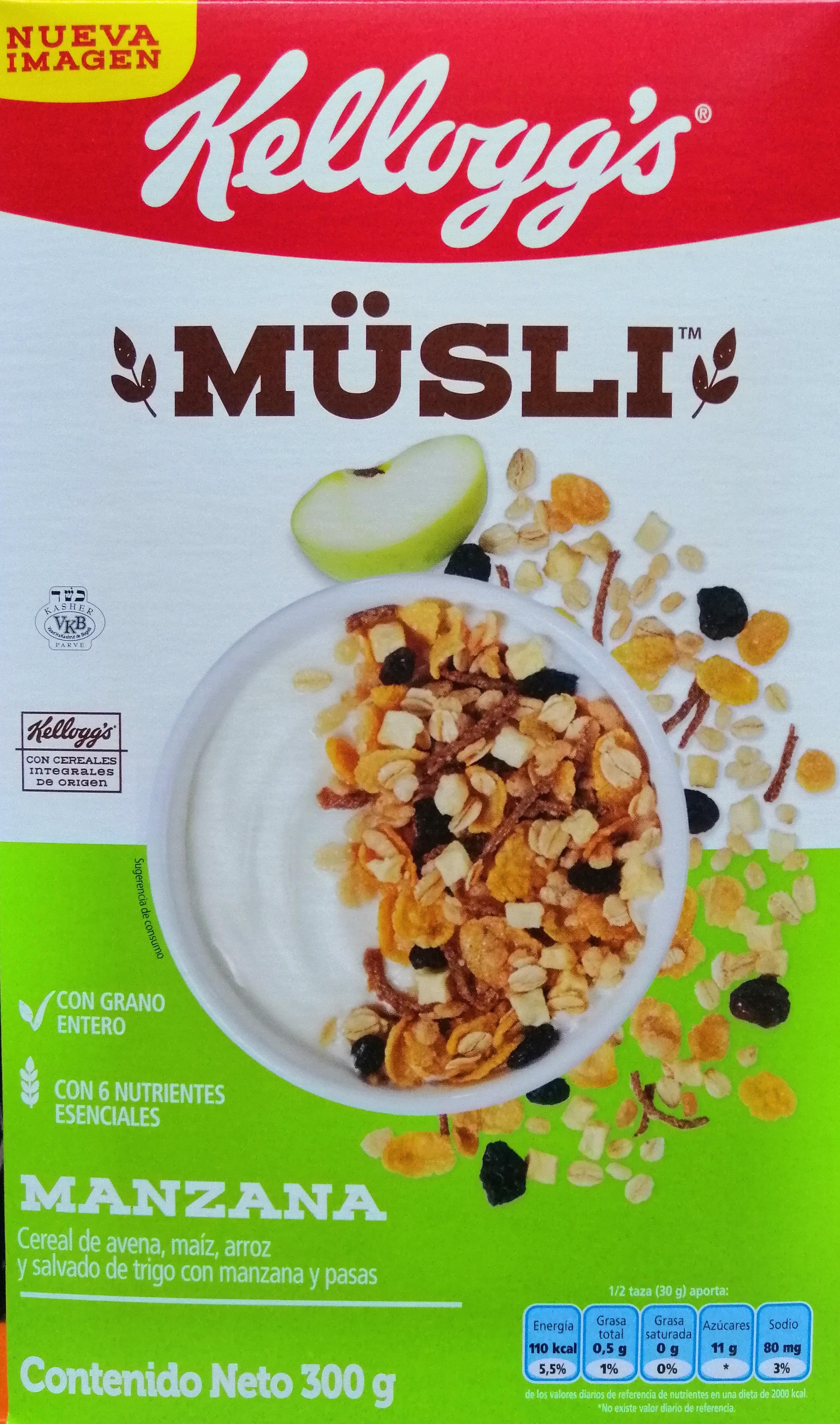 Cereal Musli Manzana 300g