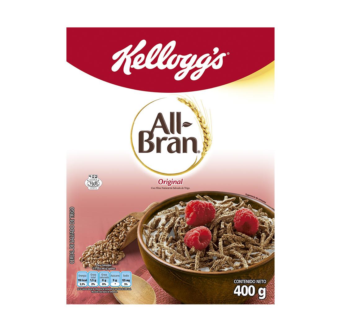 Cereal all Bran Kelloggs 400g