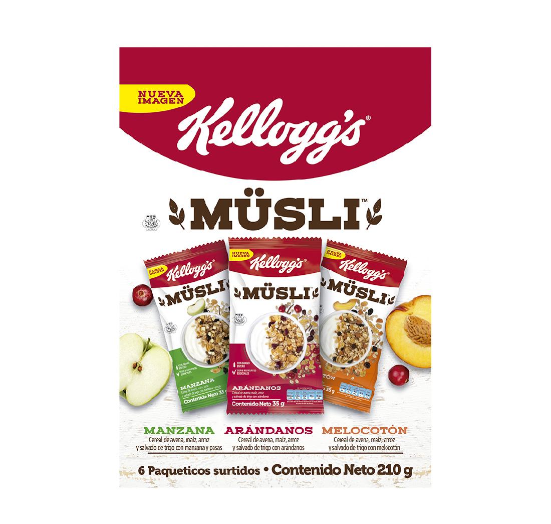 Cereal Musli Lonchera x6