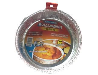 Molde Alumina Torta x 6