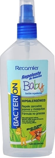 Repelente Bacterion Baby X120ml