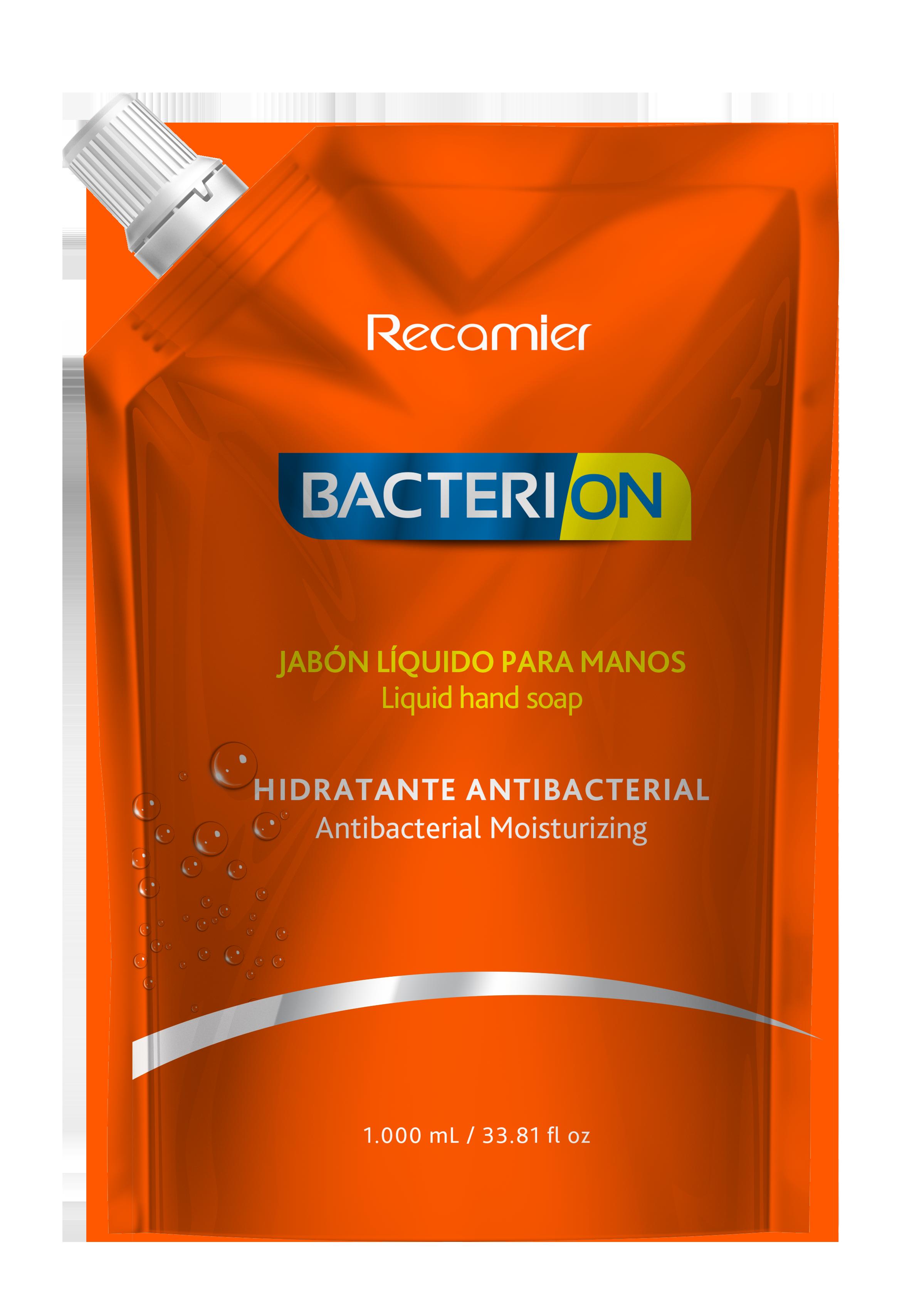 Jabón Liquido Bacterion Hidratante Antibacterial 1l
