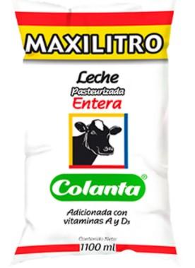 Leche Colanta Pasterizada Entera x1 1l