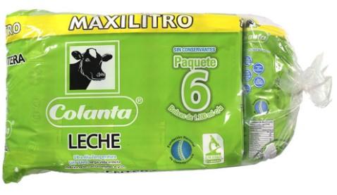 Leche Colanta Entera Tetra 1l x6u