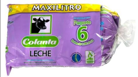 Leche Colanta Semi Deslactosada Tetra 1l x6u