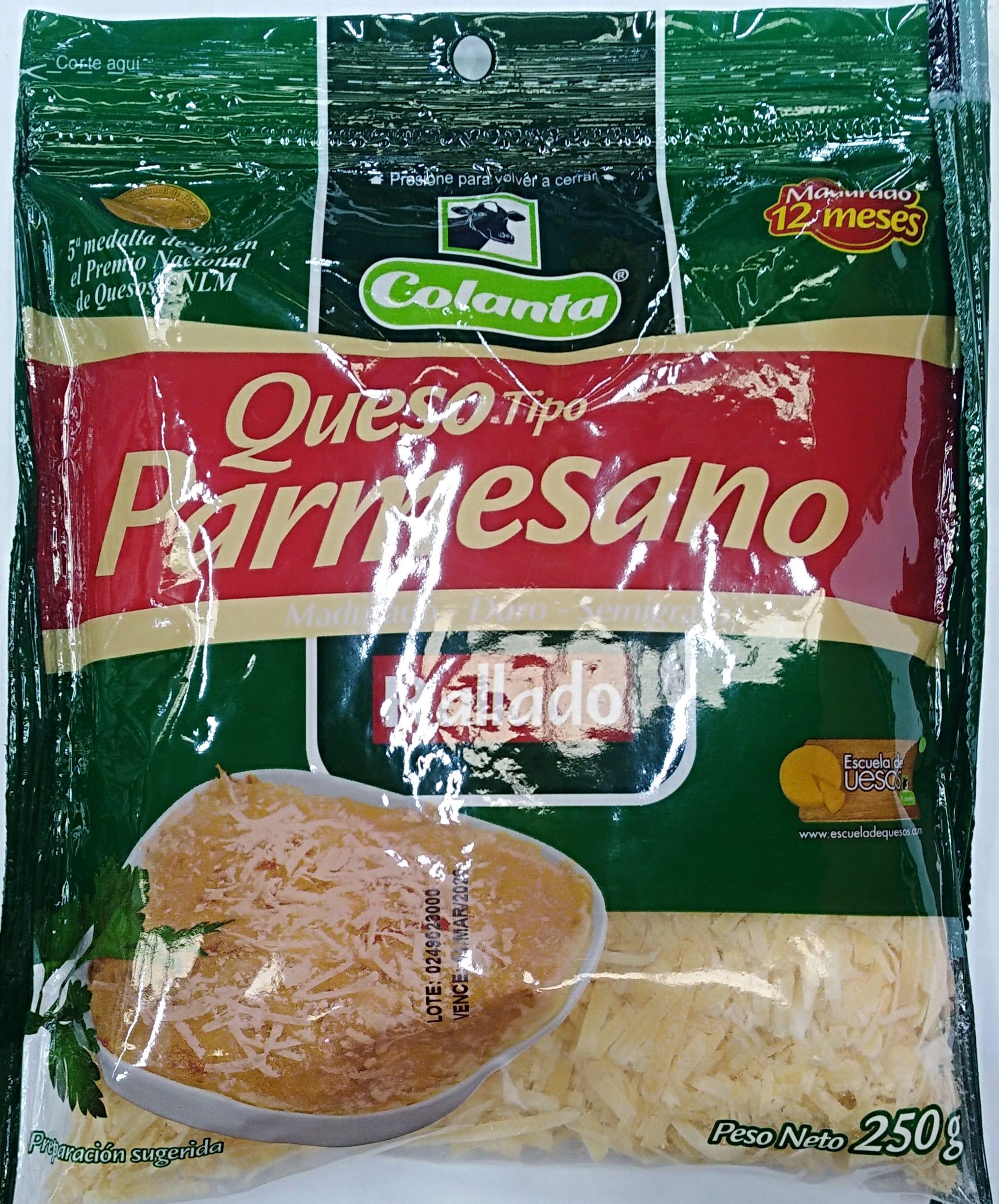 Queso Colanta Parmesano 250g