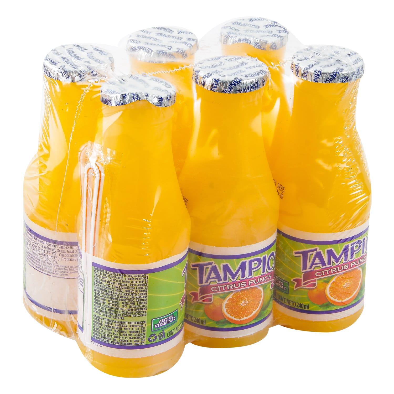 Refresco Tampico Citrus 240ml x6