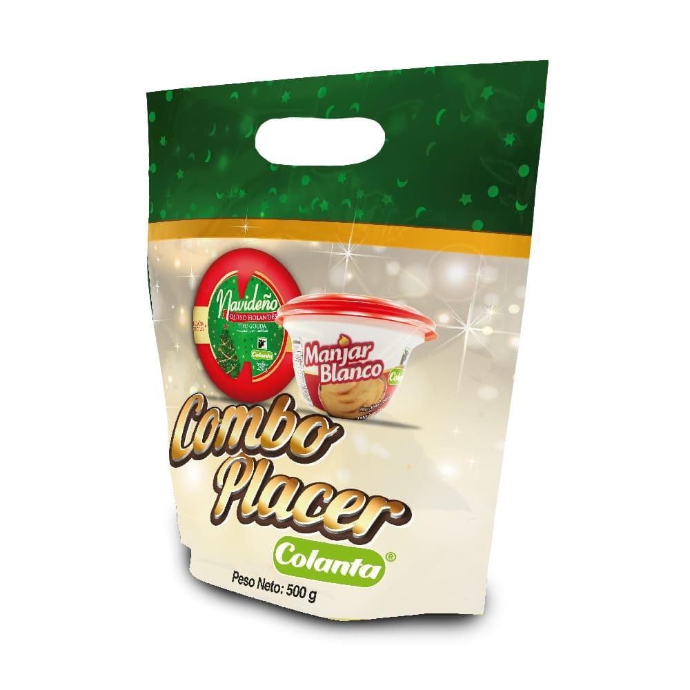 Kombo Placer Colanta Queso Holandes Manjar Blanco 500g