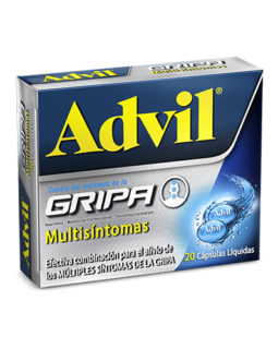 Advil Gripa Capsula liq x20