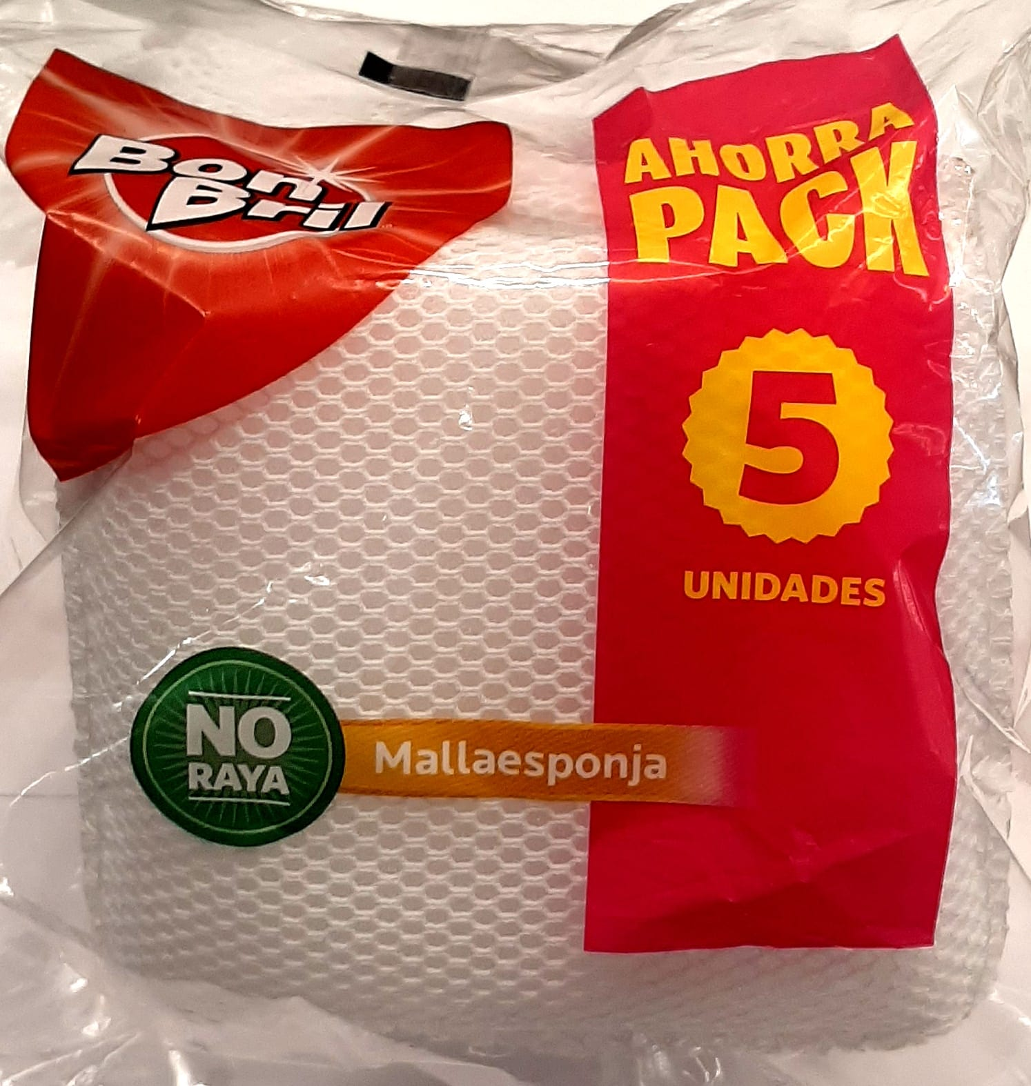 Esponja bon Bril Malla Packx5