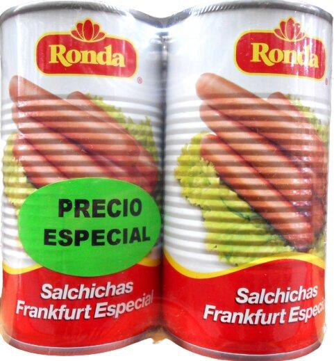 Salchicha Frankfurt Ronda 360g x2