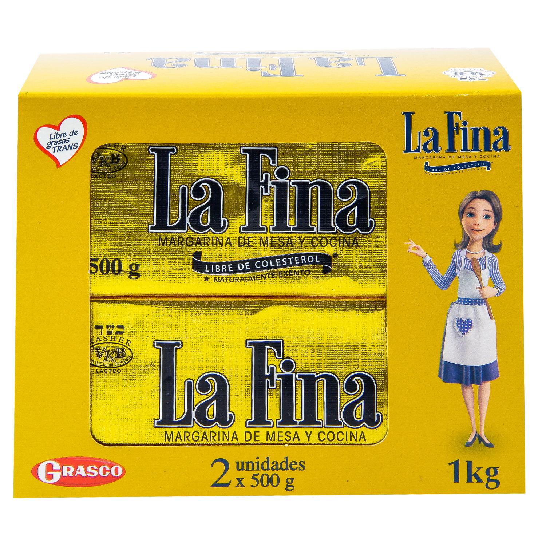 Margarina la Fina 500g x2u