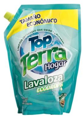 Lavaloza Liquido Topterra doy Pack 1000ml