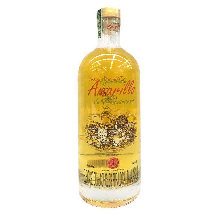 Aguardiente Cristal Amarillo X750ml