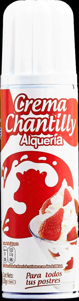 Crema Chantilly Alqueria 250g