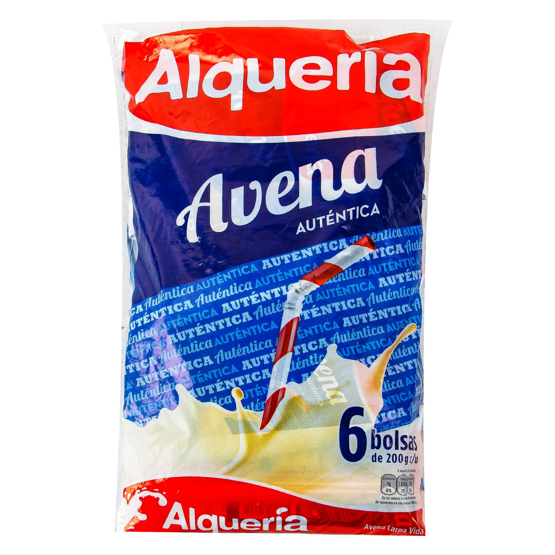 Avena Alqueria Autentica Bolsa 200g x6