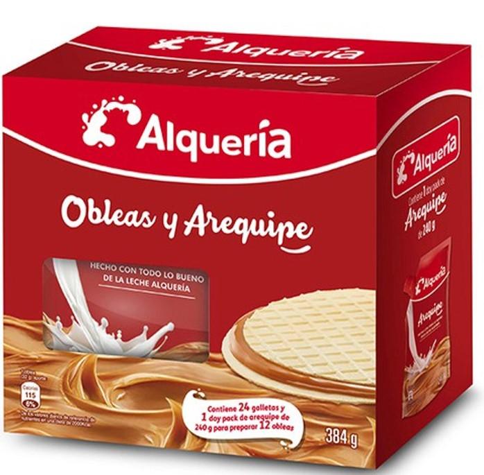 Obleas Arequipe Alqueria 384g