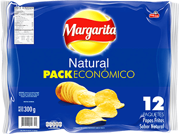 Papas Margarita Natural 25g x12