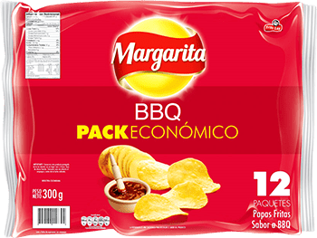 Papas Margarita bbq 25g x12