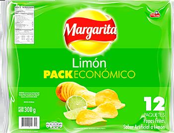 Papas Margarita Limon 25g x12