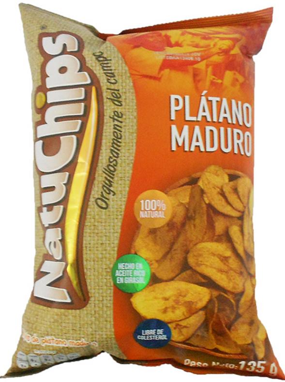 Platano Maduro Natuchips 135g