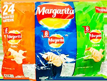 Papas Margarita std X24u 600g