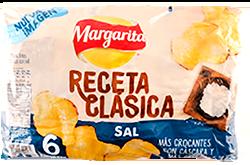Papas Margarita Clasica 38g x6