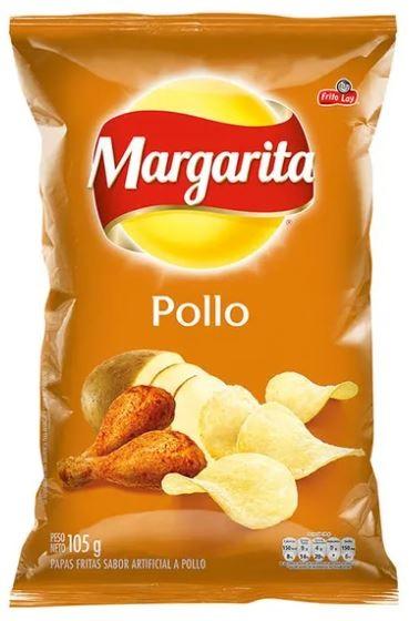 Papa Margarita Pollo 105g