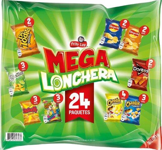 Megalonchera Fritolay x24 558g