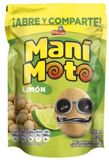 Manimoto Fritolay Limon 170g