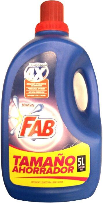 Detergente Liquido fab Floral 5l