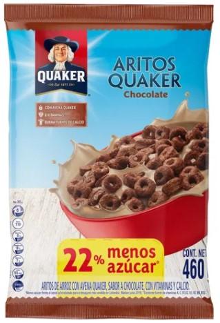 Cereral Quaker Aritos Chocolate 460g