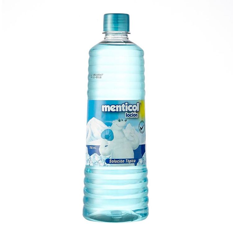 Locion Menticol Azul 750ml