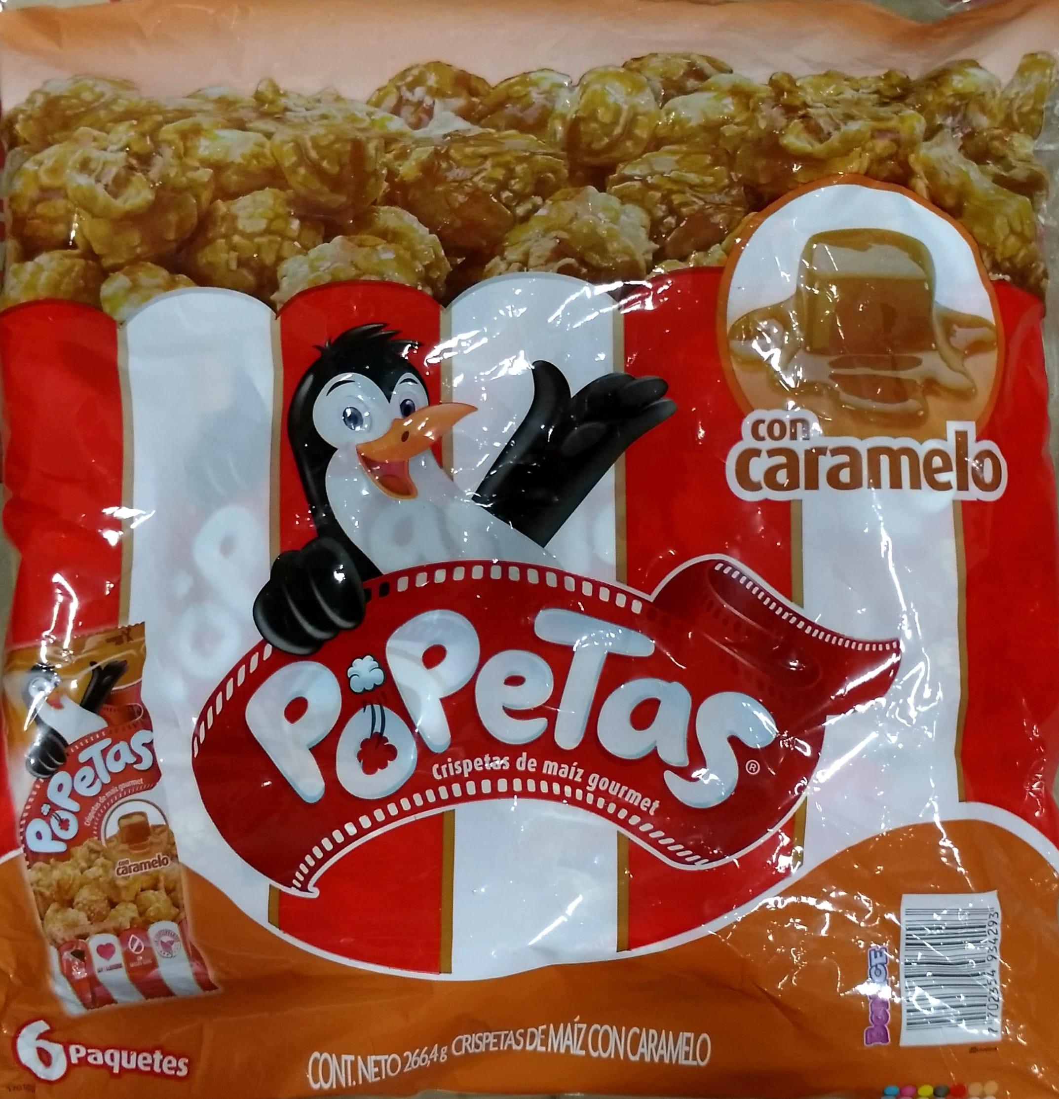 Popetas Caramelo x6u 266 4g