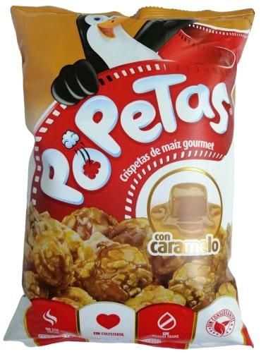 Popetas Familiar Caramelo 165g