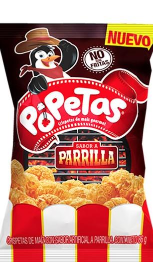 Popetas Familiar Parrilla 86g